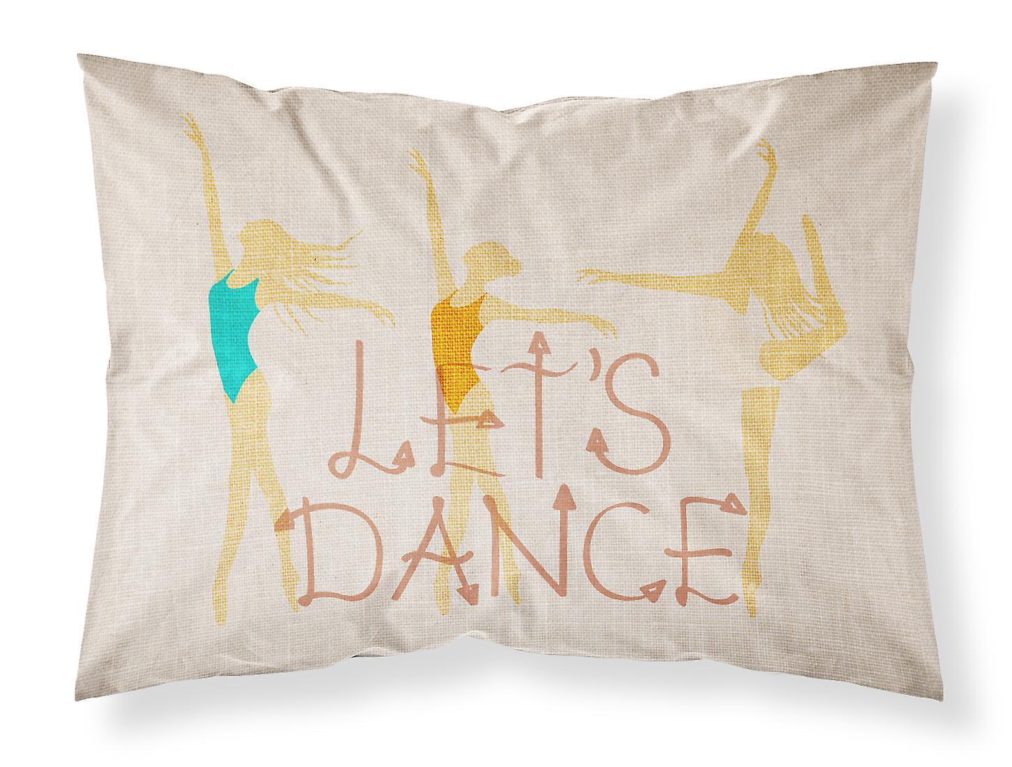 D'oreiller Dance Tissu Lin Taie Clair Let's Standard Tlc1FKJ3