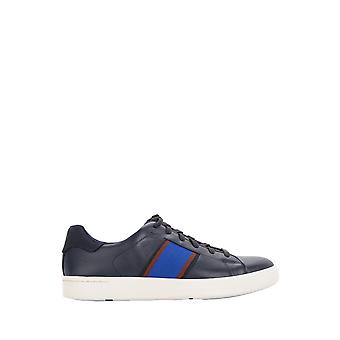 Paul Smith menns SSXDT133MLUXG22 Blau skinn joggesko