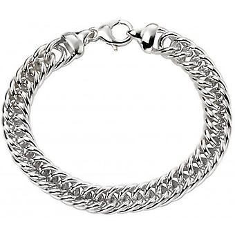 Beginnings Heavy Weight Close Curb Bracelet - Silver