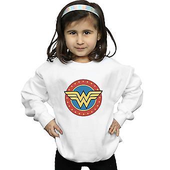 DC Comics meisjes Wonder Woman cirkel Logo Sweatshirt