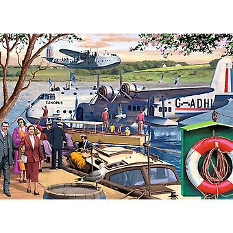 Falcon Deluxe Empire Flying Boats Jigsaw Puzzle (1000 Pieces)