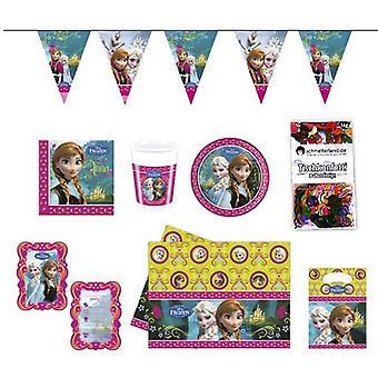 Strona pakietu mrożone dzieci urodziny 51-teilig Strona pole