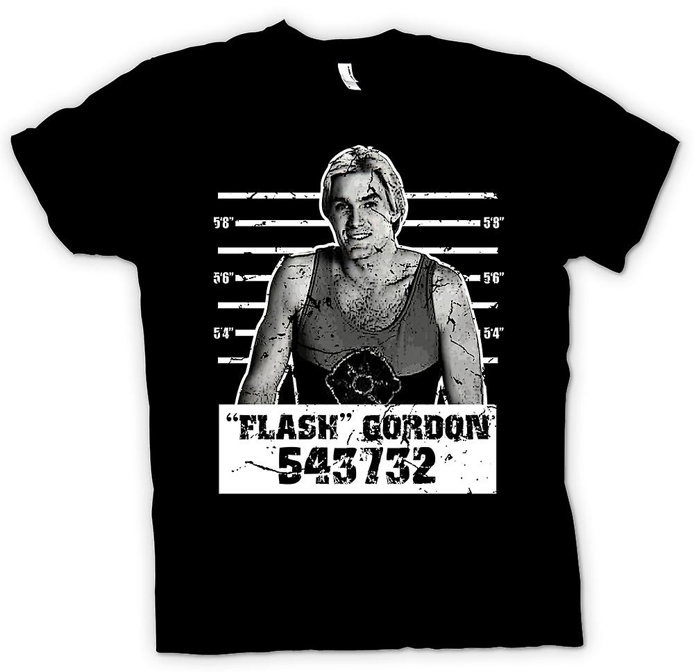 Hombres camiseta - Flash Gordon - cine - Mug Shot