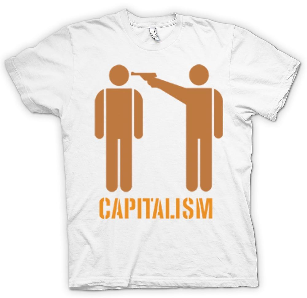 Mens T-shirt - Capitalismo Will Kill You - Anti Capitalismo