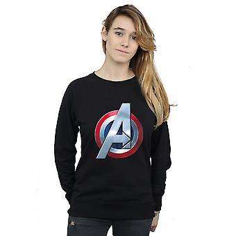 Marvel Women's Avengers 3D Logo Sweatshirt