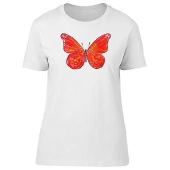 Big Red Butterfly Tee Women's -Image by Shutterstock