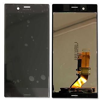 Sony display LCD complete unit for Xperia XZ F8831 black spare parts