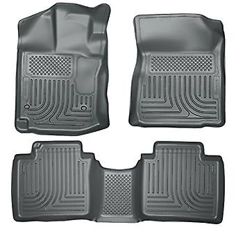 Husky Liners Front & 2nd Seat Floor Liners (Footwell Coverage) Fits 12-14 Venza