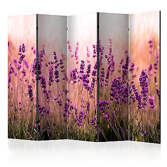 Room Divider - Lavender in the Rain II [Room Dividers]
