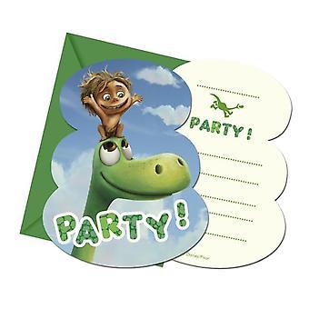 The good Dinosaur Dino Arlo & Spot Party Einladungskarten 6 Stück Kindergeburtstag Mottoparty