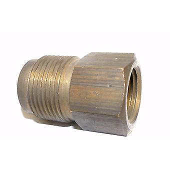 Big A Service Line 3-14692 Brass Flare Female Connector 3/4