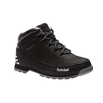 Timberland euro Sprint hiker real leather mens boots black