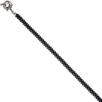 Hämatinkette Hämatin Collier Edelsteinkette Hämatin matt 45 cm Halskette Kette