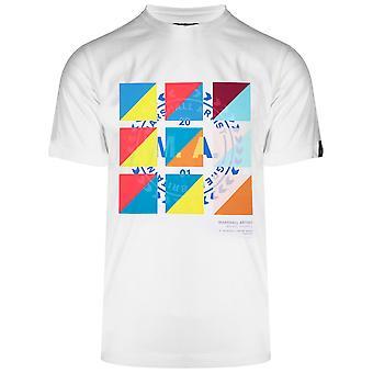 Marshall Artist Marshall Artist White Signal Logo T-Shirt
