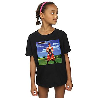 David Bowie Girls Earthling Album Cover T-Shirt