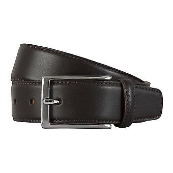 Ceintures de ROY ROBSON ceintures homme, ceinture en cuir peut être raccourcie Brown 1960