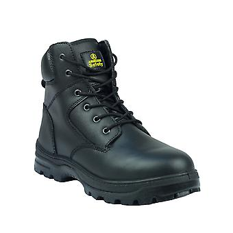 Amblers Mens FS84 Steel Toe & Midsole Leather Safety Boot S1-P-SRA