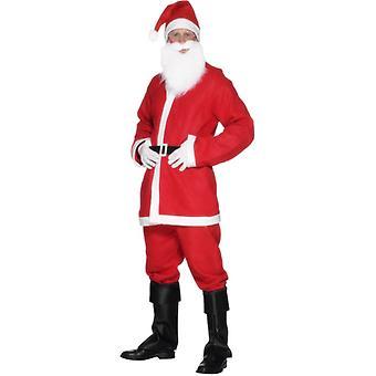 Santa suit costume - mens, Red
