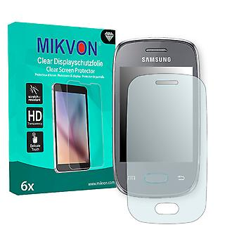 Samsung S5312 Galaxy Pocket Neo Duos Screen Protector - Mikvon Clear (Retail Package with accessories)