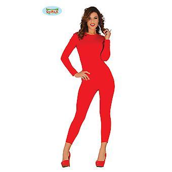 Elastische lichaam pak in het rood voor dames jumpsuit ondergoed