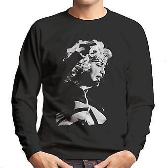 Madonna Wembley Stadium Blonde Ambition Tour 1990 Men's Sweatshirt