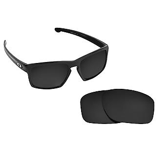 Mainlink Replacement Lenses Polarized Black by SEEK fits OAKLEY Sunglasses