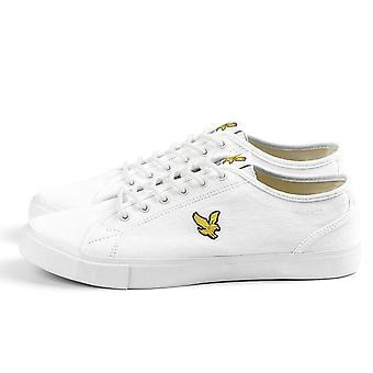 Lyle And Scott Teviot Canvas Plimsoll Trainers   Twill