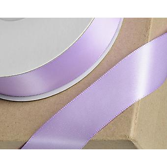 23mm Lilac Satin Ribbon for Crafts - 25m   Ribbons & Bows for Crafts