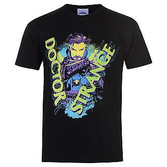Character Mens Dr Strange T Shirt Crew Neck Tee Top Short Sleeve Lightweight