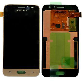 Display LCD complete set GH97-18224 B gold for Samsung Galaxy J1 J120F 2016