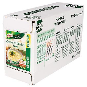 Knorr-100 %-Creme der Hühnersuppe