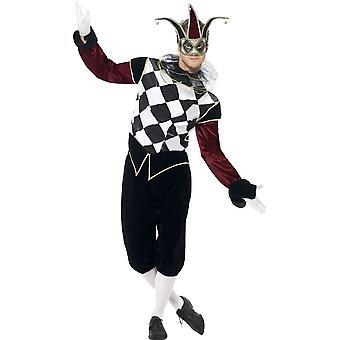 Gotisk venetianske harlekin kostyme, brystet 38