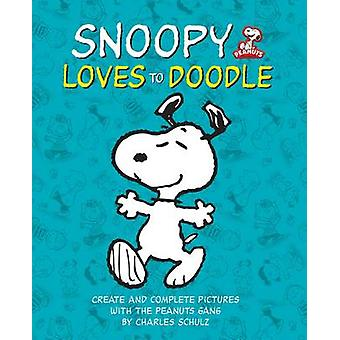 Peanuts - Snoopy Loves to Doodle - Create and Complete Pictures with th
