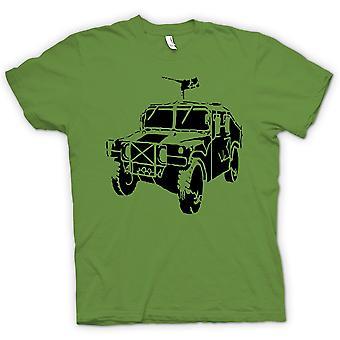 Męska koszulka-US Army Humvee 50 Cal - wojskowych