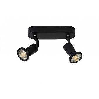 Яйца lucide современные овал металлический потолок черный Jaster-LED прожектор