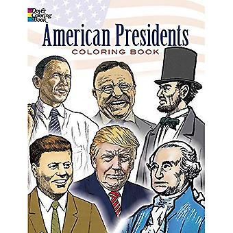 Amerikanischen Präsidenten Färbung Buch [illustriert]