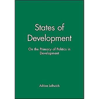 Påstår av utveckling: på företräde för politik i utveckling