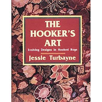 HOOKERS Kunst: Entwickelt Design in Hooked Teppiche