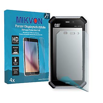Cat S50 Screen Protector - Mikvon Armor Screen Protector (Retail Package with accessories)