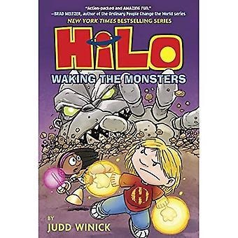 Livre 4 de Hilo: Réveiller les monstres (Hilo)
