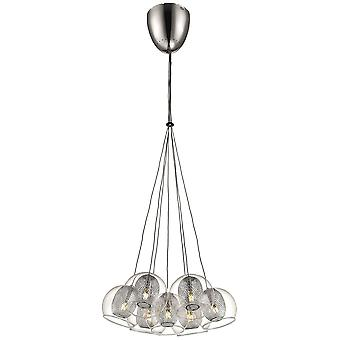 Spring Lighting - Liverpool Chrome Seven Light Pendant  DBOP036DI7EFDP