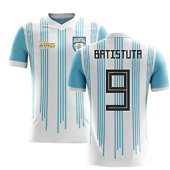 2018-2019 Argentina Home Concept Football Shirt (Batistuta 9)