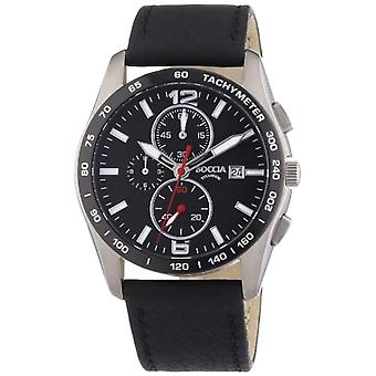 Boccia 3767-01-men's wristwatch, titanium, color: Silver