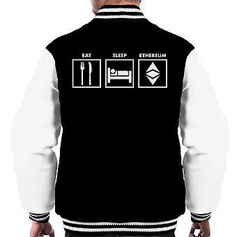 Mangiare Varsity Jacket dormire Ethereum maschile