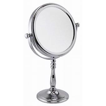 7x Magnification Round Chrome Mirror