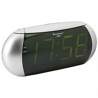 Jumbo alarm clock design.