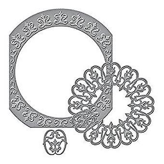 Spellbinders Nestabilities Fleur De Circle Etched Dies (S5-276)