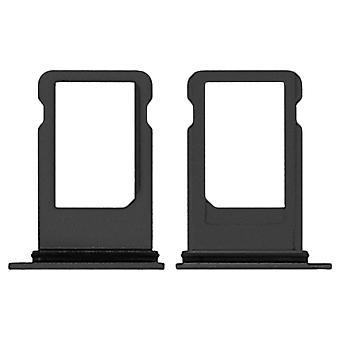 SIM Card Holder iPhone 8 Plus Replacement Nano SIM Card Holder - Black