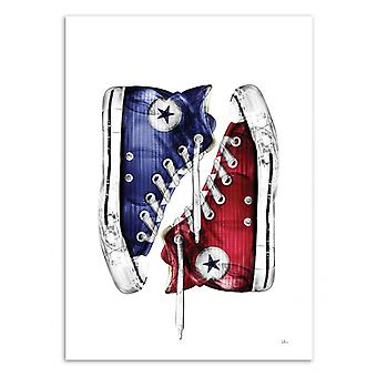 Art-Poster - All Star off my Life - Rubiant 50 x 70 cm