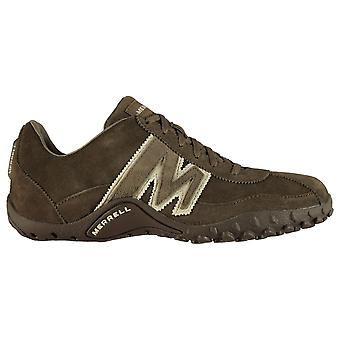 Merrell Mens Sprint Blast Leather Trainers Waterproof Walking Shoes Lace Up Merrell Mens